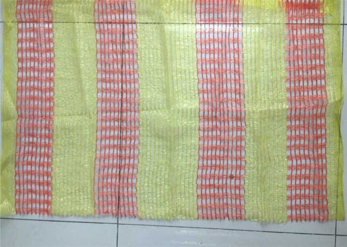 Warp Knitted Orange Plastic Warning Net Reduce Sound Pollutions Available
